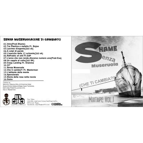 Shame-Senza Museruola(che ti cambia?!) Mixtape vol.1