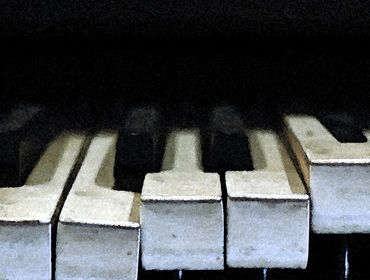 broken piano tapes