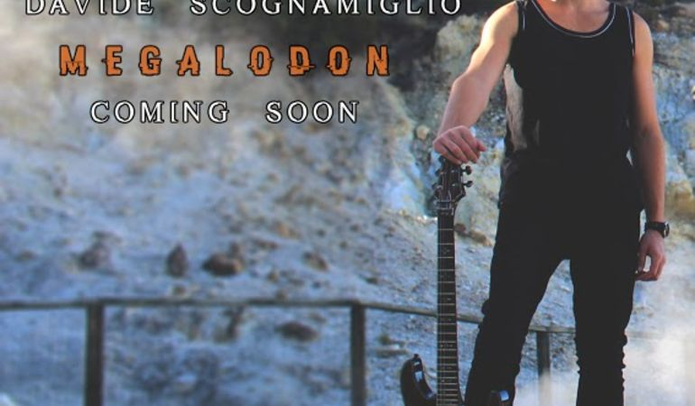 """Davide Scognamiglio annuncia il suo EP """"Megalodon"""""""