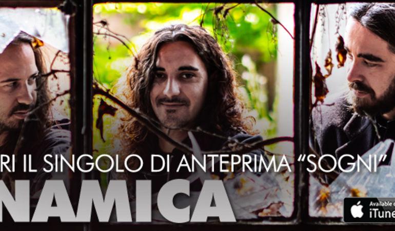 Tutte le strade portano al rock: i Dynamica presentano Sogni, singolo d'anteprima che anticipa l'uscita del loro debut album.
