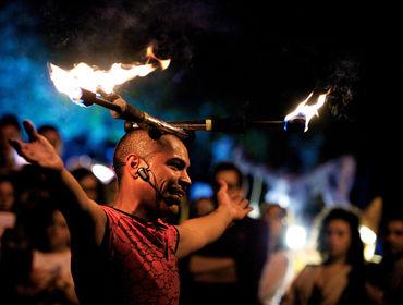 Mojoca 2018, il Festival degli artisti di strada a Moio della Civitella (SA)
