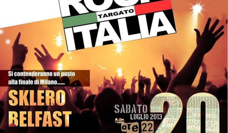 FINALISSIMA REGIONE MARCHE XXV EDIZIONE ROCK TARGATO ITALIA