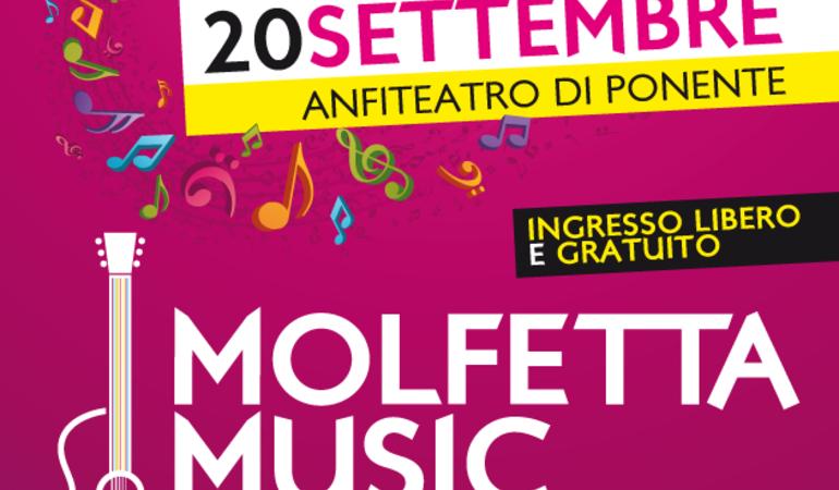MOLFETTA MUSIC FESTIVAL - 20 SETTEMBRE