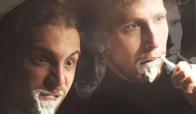 Gnamo Tour: Fabrizio Ganugi e Francesco Gori sbarcano all'Aperi Saffi di ANCONA