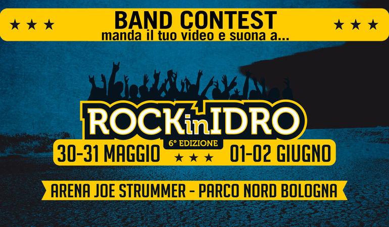 Vuoi suonare con la tua band a Rock in Idro 2014?