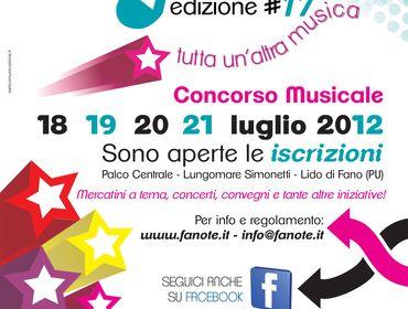 """Fanote 2012 – """"Tutta un'altra musica"""""""