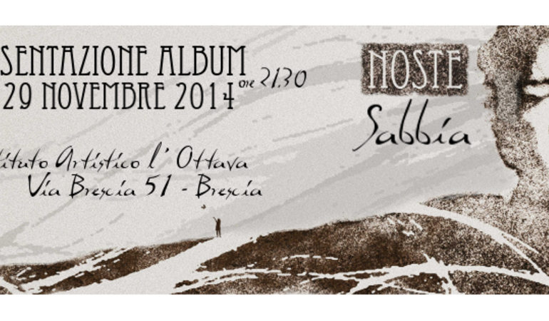 """Sabbia"" l'emozionante album d'esordio di Noste"