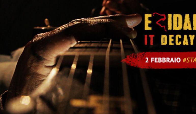 IT DECAY Esce il singolo degli Eridana: grido di denuncia di una band rock dal sapore internazionale raccontato da un Pinocchio metropolitano