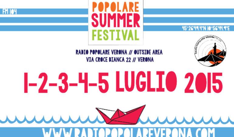 Popolare Summer Festival 2015: dall'1 al 5 Luglio 2015