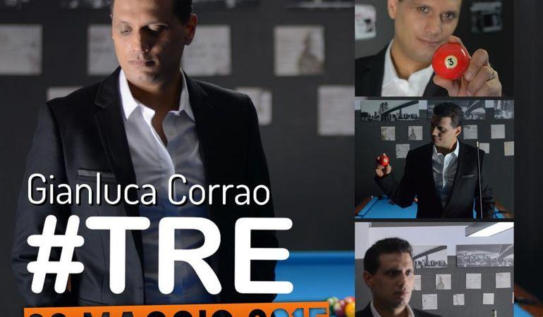 #TRE, il nuovo disco del cantante genovese Gianluca Corrao