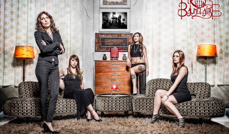 KILLIN' BAUDELAIRE - Firma con Jack Rock Agency, primo EP a maggio