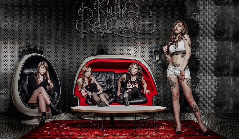 KILLIN' BAUDELAIRE - Inizia il tour, le prime quattro date confermate