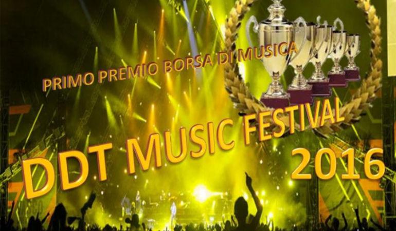 DDT MUSIC FESTIVAL : Evento per cantautori, interpreti band e formazioni varie sopra i 16 anni