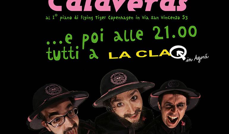 I Fetish Calaveras a Genova per la presentazione di RADIO SAFARI.
