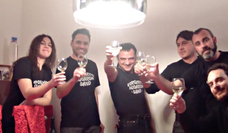Il video della Borghetti Bugaron Band per festeggiare Natale 2016