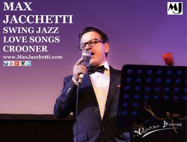 MAX JACCHETTI Swing Jazz Crooner