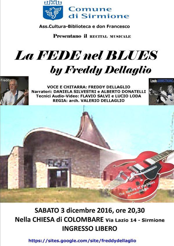 LA FEDE NEL BLUES by Freddy Dellaglio