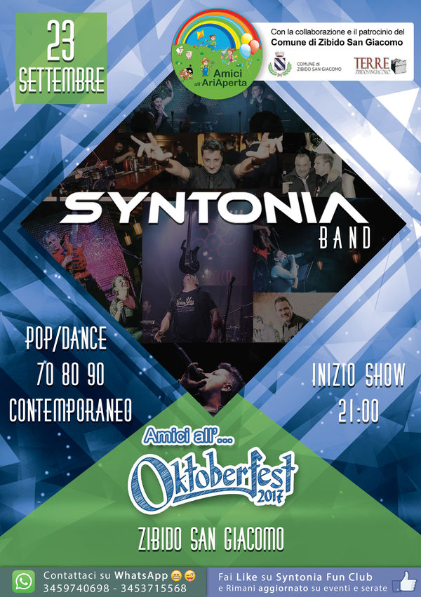 Syntonia Live - AMICI ALL'... OKTOBERFEST !