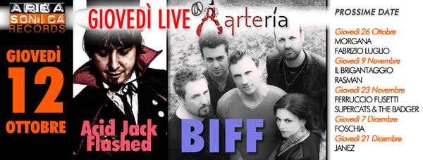 Areasonica Live at Arteria | BIFF + ACID JACK Flashed