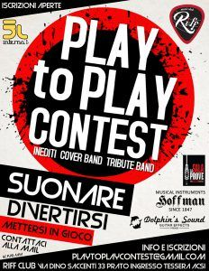 Play to Play Contest 2018