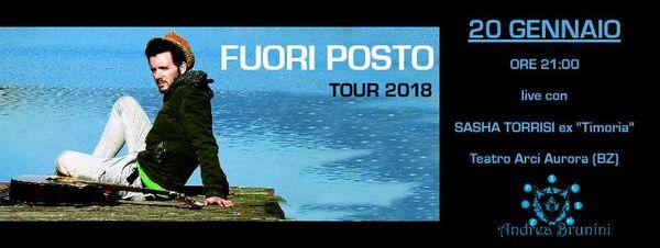 Andrea Brunini & I Giocattoli Difettosi Live con Sasha Torrisi [Ex Voce dei TImoria]