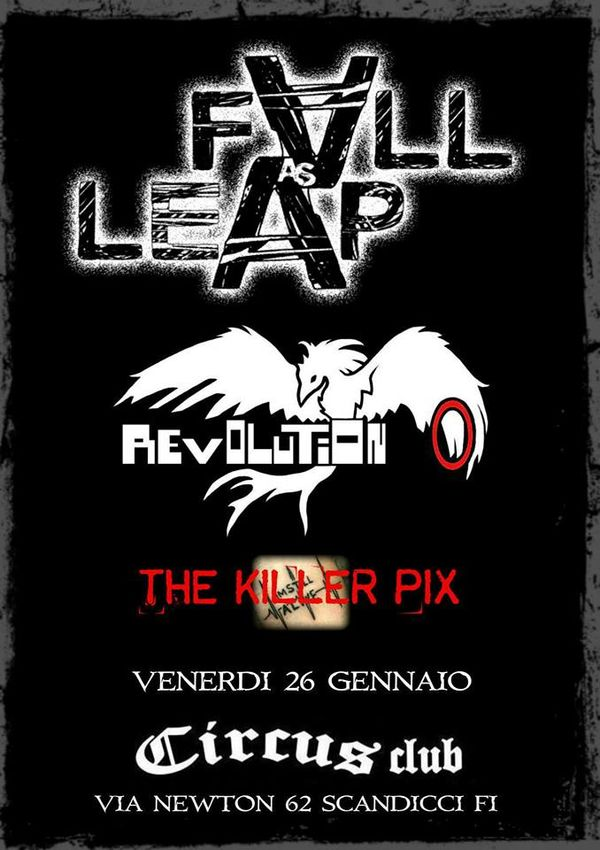 Fall As Leap,Revolution 0,The Killer Pix