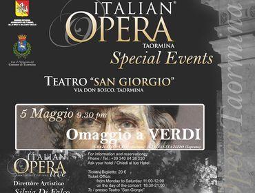 "Concerto ""Omaggio a Giuseppe Verdi"""