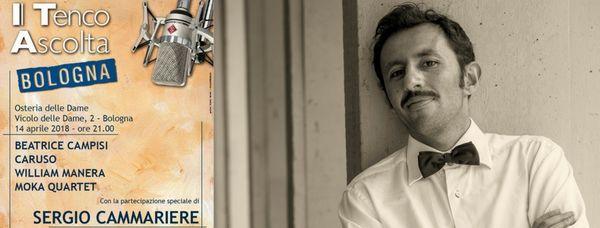 Sabato 14 aprile: William Manera sul palco dell'Osteria delle Dame per il Tenco Ascolta!