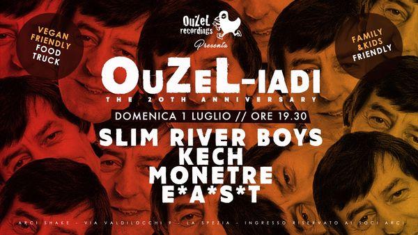 1998-2018: OuZeL Records festeggia vent'anni allo Shake con concerti ed eventi
