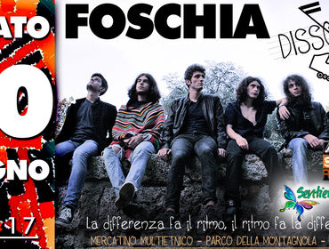 Foschia LIVE a Dissonanze