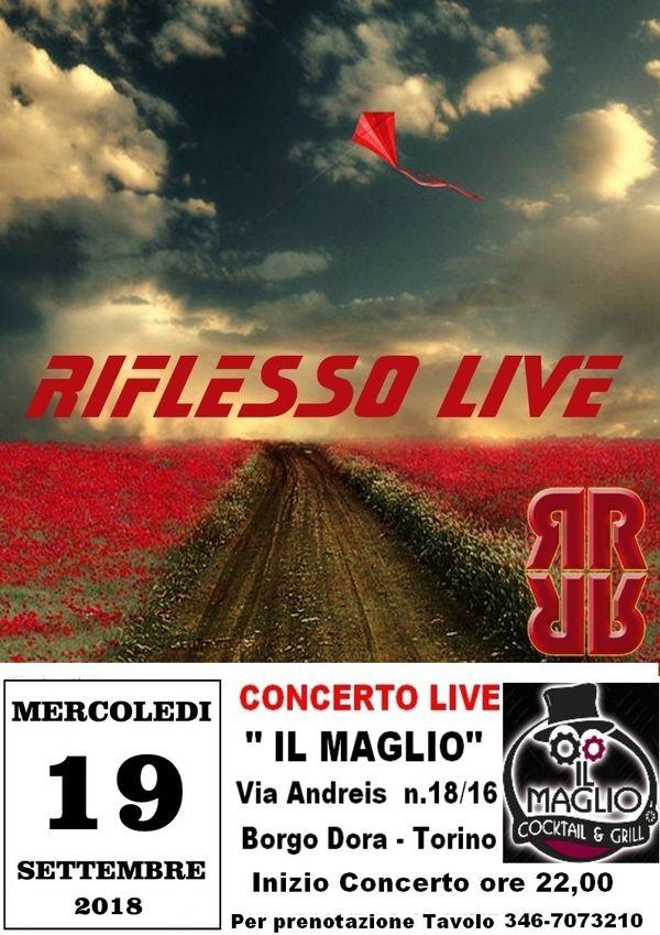 Concerto Live RIFLESSO al MAGLIO