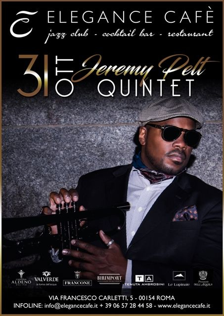 """Jeremy Pelt, da New York arriva la """"Rising Star"""" della tromba contemporanea"""