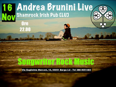 Andrea Brunini & Band Live - Shamrock Irish Pub Barga [LU]