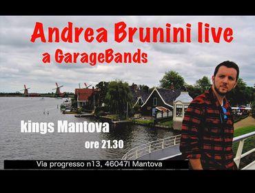 Andrea Brunini Live diretta Garagebands - Radio Pico