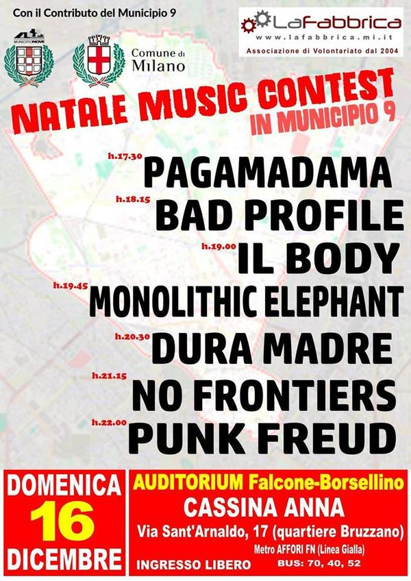 Natale Music Contest