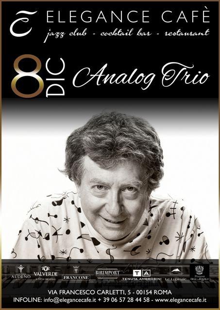 Analog Trio dal vivo all'Elegance Cafè, quando l'elettronica incontra il jazz