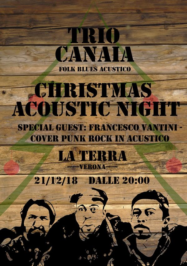 Christmas Acoustic Night @ Cibo e Caffè La Terra