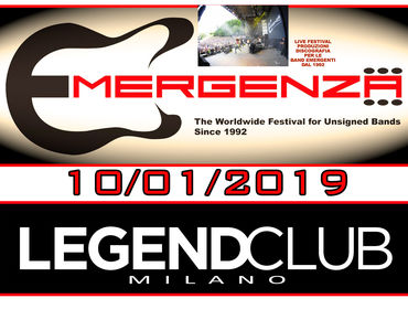 Emergenza Festival@Legend Club Milano