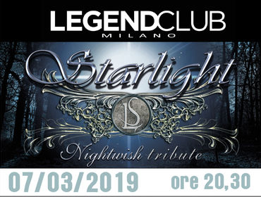 STARLIGHT live LEGEND club - Milano