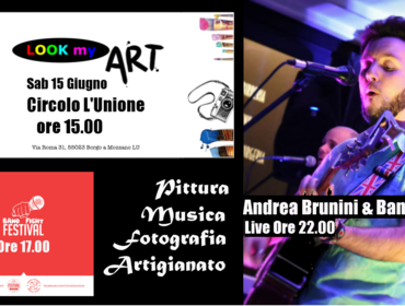 Andrea Brunini Live - II Season LOOK MY ART