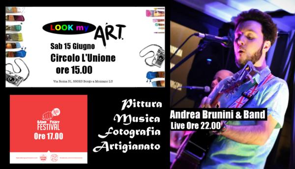 Andrea Brunini Live - II Season LOOK MY ART