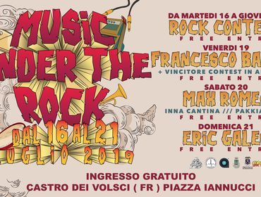 Rock Contest - Music Under The Rock