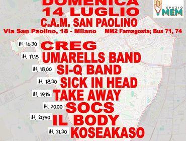 Municipio 6 Music Contest 2019 – 14 luglio Cam San Paolino