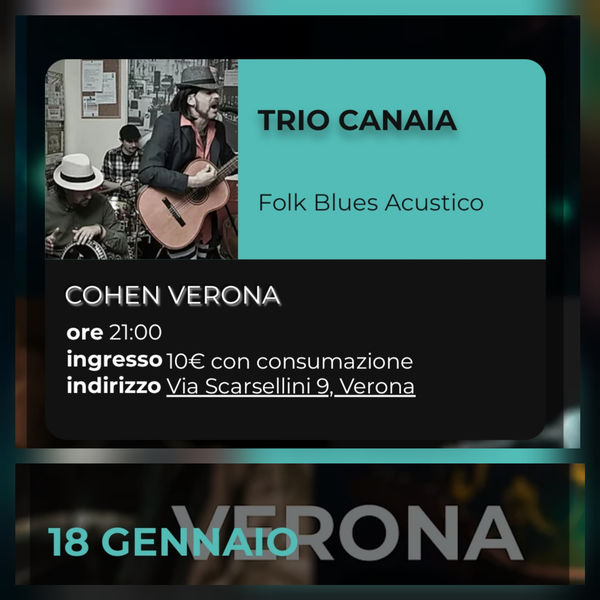 Trio Canaia live at Cohen