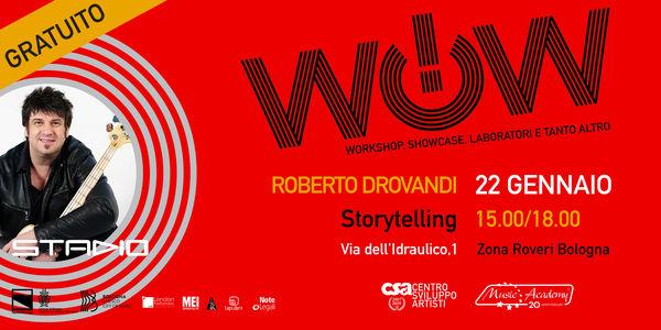 ROBERTO DROVANDI - STORYTELLING
