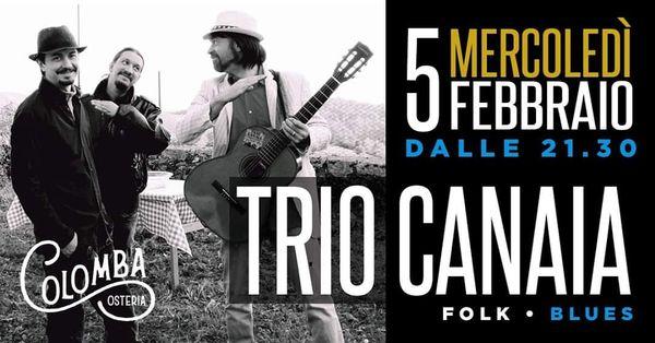 Trio Canaia live al Colomba
