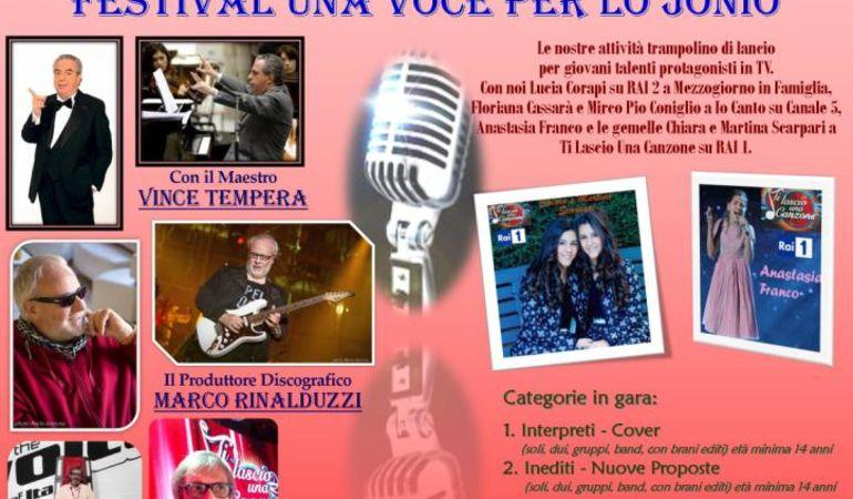 Sono aperte le iscrizioni alla 9^ edizione del Festival Una Voce per lo Jonio
