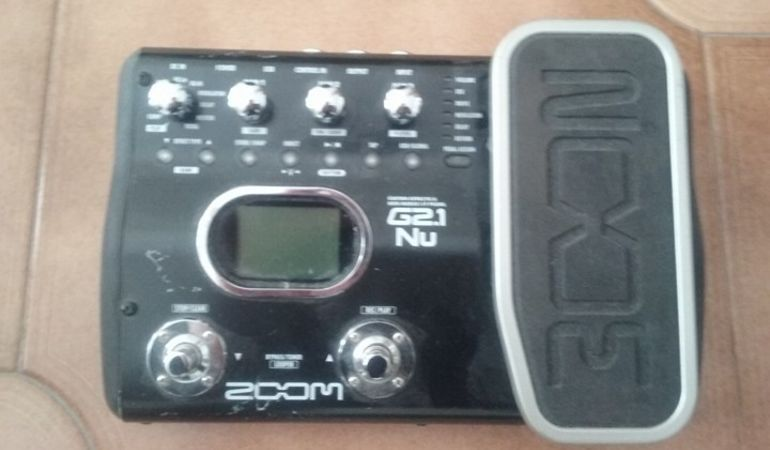 Pedaliera Chitarra Guitar Effects & USB Audio I/F Pedal G2.1 Nu ZOOM