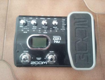 Pedaliera Chitarra Guitar Effects & USB Audio I/F Pedal G2.1 Nu ZOOM