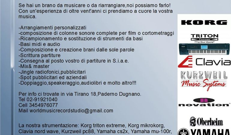 Compositore e arrangiatore